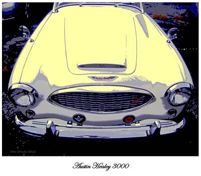 Photograph - Austin Healey 3000 by Don Struke