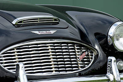 Photograph - Austin-healey 3000 Grille Emblem by Jill Reger