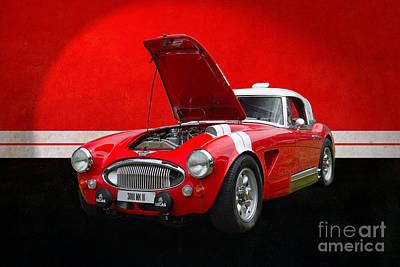 Photograph - Austin Healey 3000 Mkiii by Stuart Row