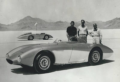 Archives Photograph - Austin-healey Breaks Sixten Year Old Speed Records. At by Retro Images Archive