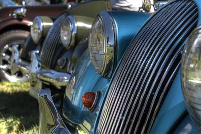Antique Automobiles Photograph - Austin Healey by Jane Linders