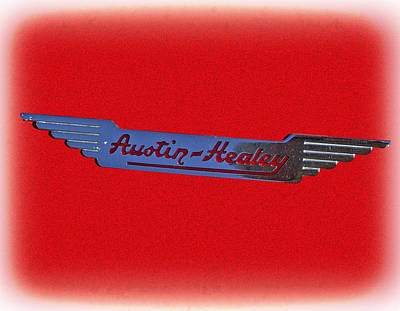 Austin-healey Art Print