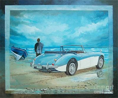 Austin Healey Mark IIi Art Print