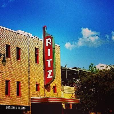 Austin Photograph - Austin #iphone5  by Scott Pellegrin