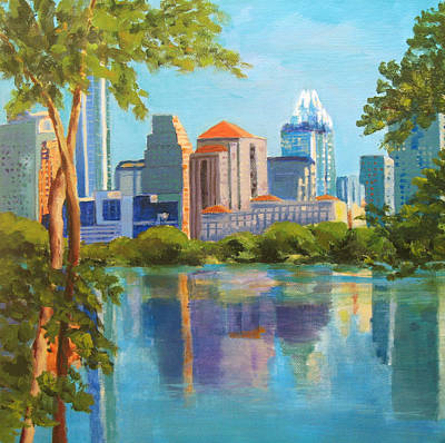 Austin Morning Art Print