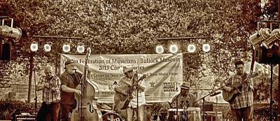 Photograph - Austin Musicians At Bob Bullock by Kristina Deane