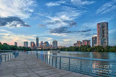 Austin Photograph - Austin Skyline At Dark  by Tod and Cynthia Grubbs