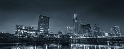Photograph - Austin Skyline by David Morefield