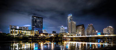 Photograph - Austin Skyline Hdr by David Morefield