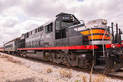 Austin Steam Train Diesel Engine 442 Art Print by JG Thompson