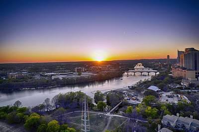 Photograph - Austin Texas Sunset Hour by Kristina Deane