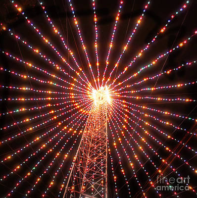 Austin Texas Trail Of Lights  Art Print by Svetlana Novikova