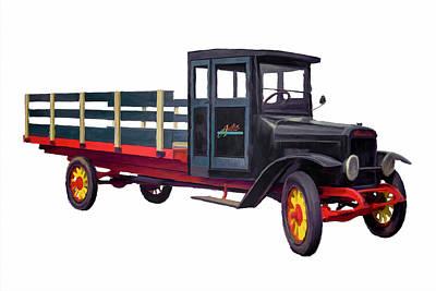 Painting - Austin Truck #1 by Wally Hampton