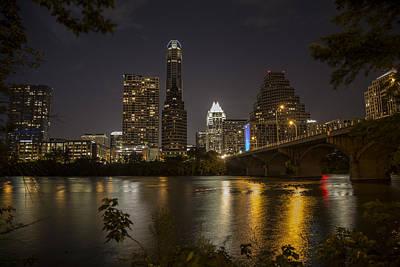 Photograph - Austin Tx Skyline by John McGraw