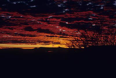 Photograph - Australia - Desert Sunrise by Jacqueline M Lewis