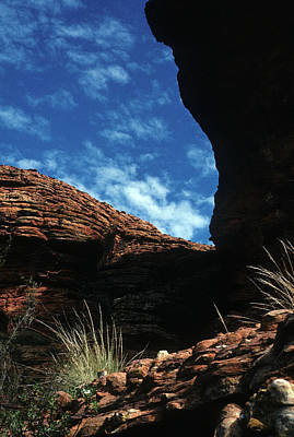 Photograph - Australia - King's Canyon Shadows by Jacqueline M Lewis