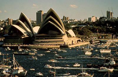 Photograph - Australia - Sydney Harbour Regata by Jacqueline M Lewis