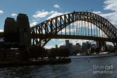 Photograph - Australia - Sydney's Coat Hanger by Jacqueline M Lewis