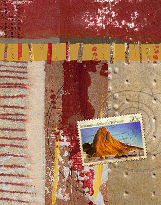 Australia Antarctic Territory Art Print