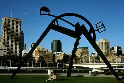 Photograph - Australia - Brisbane Citiscape by Jacqueline M Lewis