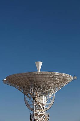 Australia, Canberra, Radio Telescopes Art Print by Walter Bibikow