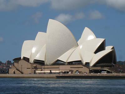 Ben Weinberg Photograph - Australia Sydney - Opera House 3 by Benjamin Weinberg