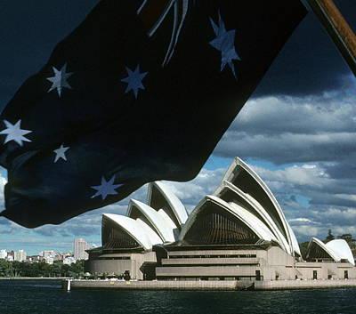 Photograph - Australia - Sydney Opera House  by Jacqueline M Lewis