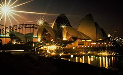 Photograph - Australia - Sydney Shining by Jacqueline M Lewis
