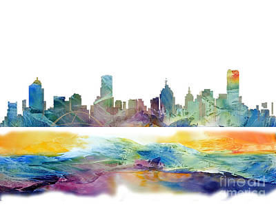 Australia Digital Art - Australia by Victor Arriaga