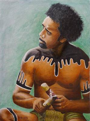 Painting - Australian Aboriginal by David Hawkes