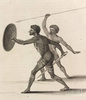 Australian Aborigines, 18th Century Print by British Library