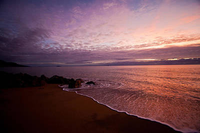 Photograph - Australian Coastline At Sundown by Carole Hinding