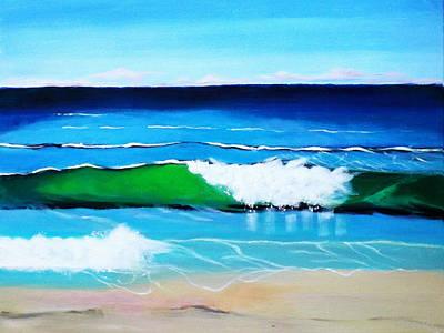 Painting - Australian Coastline by Gloria Dietz-Kiebron