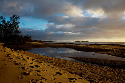Photograph - Australian Coastline Loyalty Beach by Carole Hinding