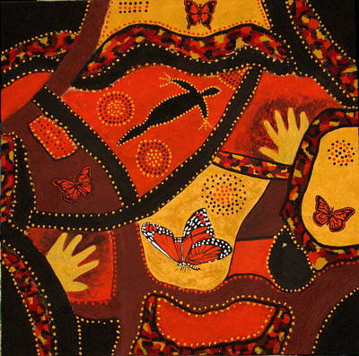 Australian Colours Art Print by Susan McLean Gray