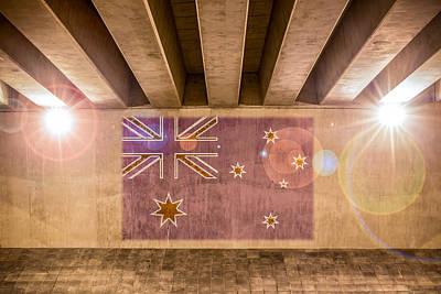 Photograph - Australian Flag by Semmick Photo