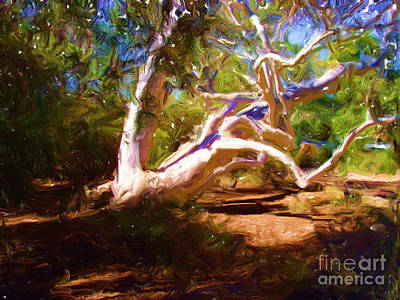 Digital Art - Australian Native Tree 1 by Russell Kightley