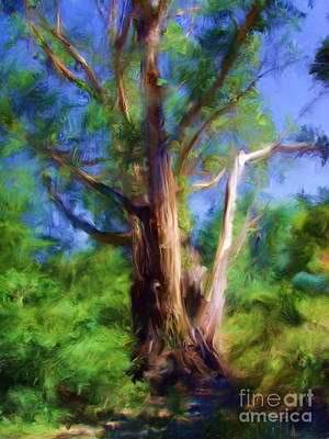 Digital Art - Australian Native Tree 7 by Russell Kightley