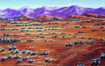 Painting - Australian Outback by David Clode