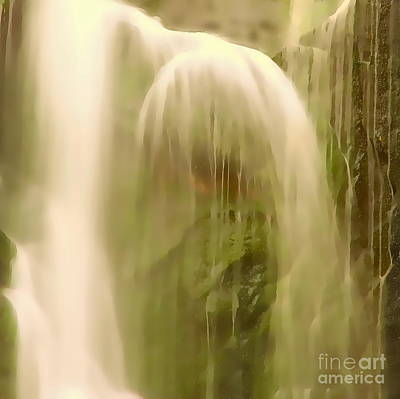 Digital Art - Australian Waterfall 3p by Tim Richards