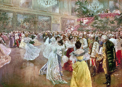 Austria: Court Ball, 1900 Art Print by Granger