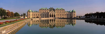 Austria, Vienna, Belvedere Palace, View Art Print by Panoramic Images