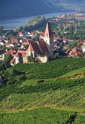 Austria, Wachau, Weissenkirchen, View Art Print by Westend61