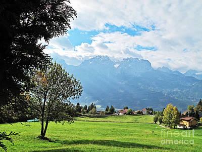Photograph - Austrian Alps by Elvis Vaughn