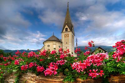 Austrian Church Art Print