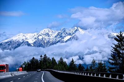 Photograph - Austrian Highway by Eric Tressler