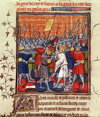 Austrians And Saracens Defeated Art Print