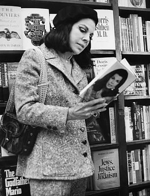 Author Jacqueline Susann Art Print