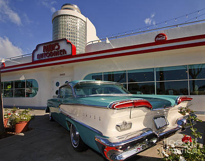 Photograph - Auto Diner by Dennis Hedberg