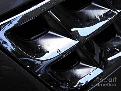 Photograph - Auto Grill by Sarah Loft